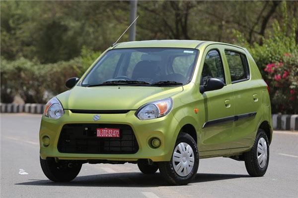 maruti alto  facelift launched  rs  lakh autocar india
