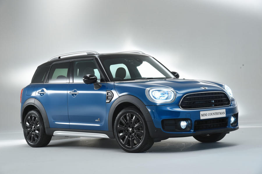 2017 mini countryman suv unveiled autocar india. Black Bedroom Furniture Sets. Home Design Ideas