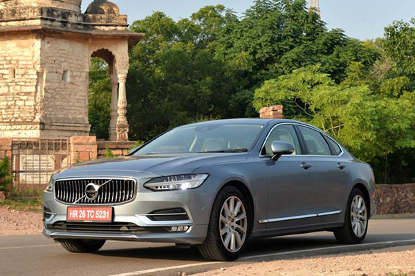 volvo s90 features explained autocar india. Black Bedroom Furniture Sets. Home Design Ideas