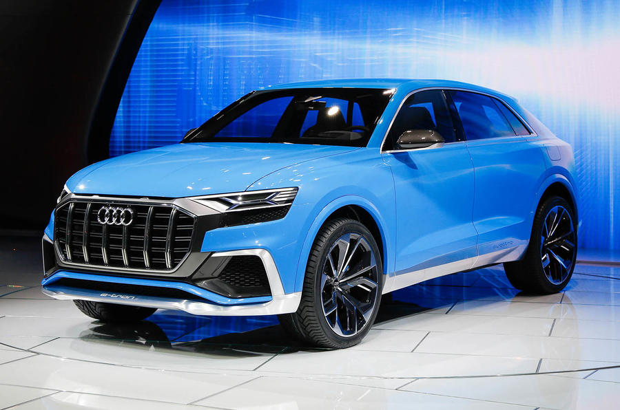 Audi Q8 Suv To Sit Above The Q7 To Share Platform With The Upcoming Lamborghini Urus Autocar