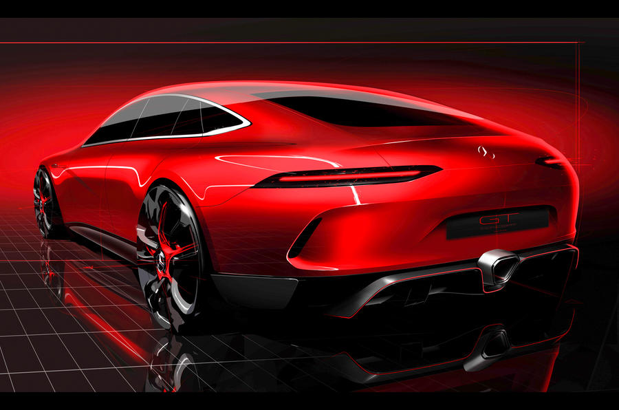 Mercedes Amg Gt4 Concept Details Images Specifications