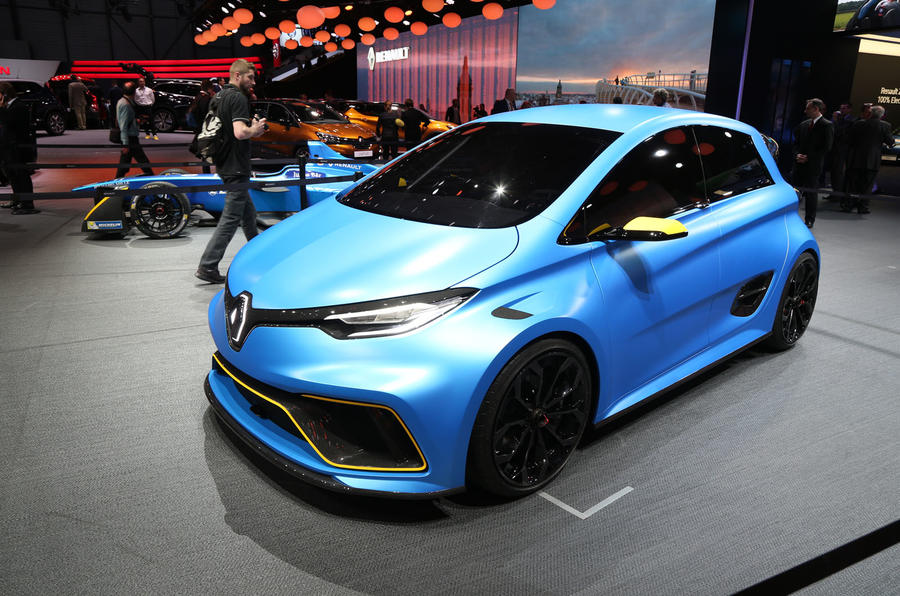 renault zoe e sport concept gets formula e tech autocar india. Black Bedroom Furniture Sets. Home Design Ideas