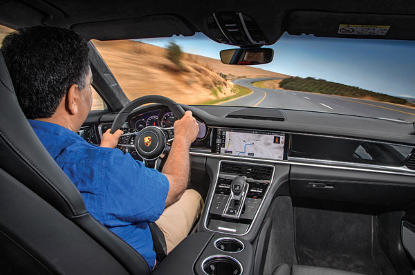 Sublime driving experience makes you forget you're in a long-wheelbase sedan.