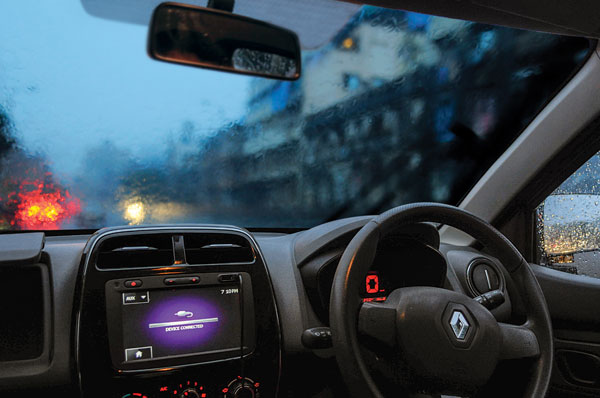 Kwid is easy to zip around in traffic; weak brakes and no ABS calls for extra caution.