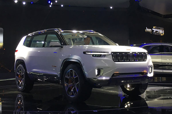 New Seven Seater Jeep Concept Revealed To Sit Below The