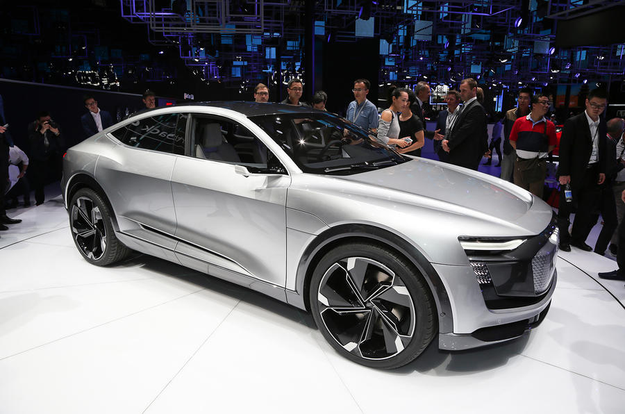 audi e tron sportback concept debuts at shanghai autocar india. Black Bedroom Furniture Sets. Home Design Ideas