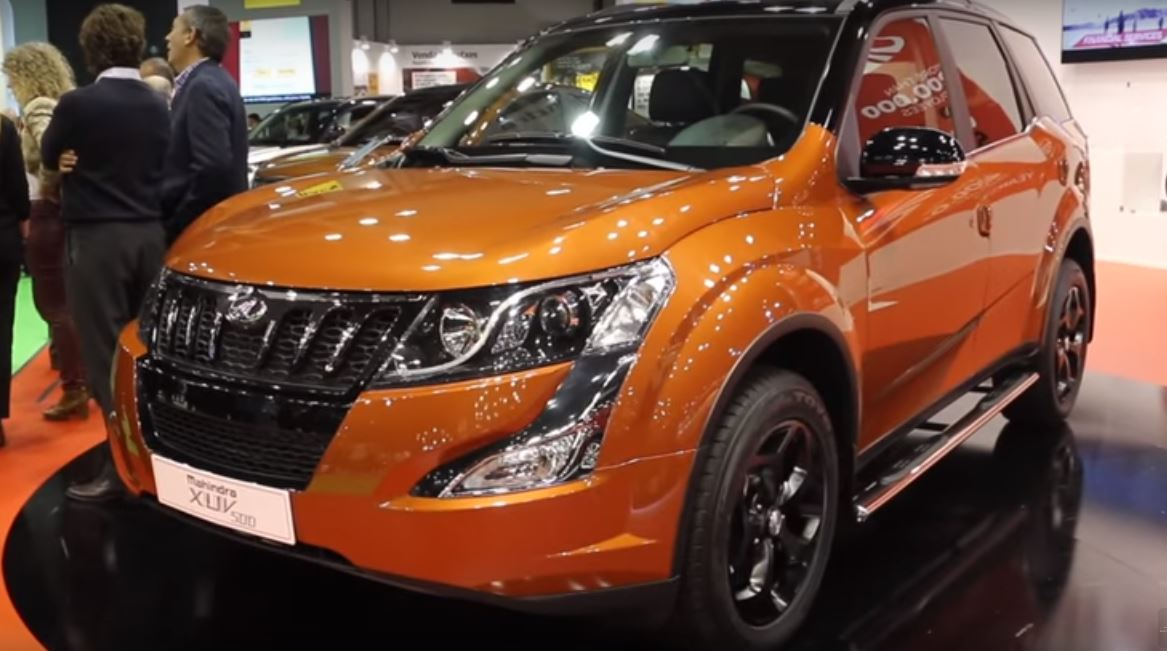 Mahindra Xuv500 Special Edition With Dual Tone Paint
