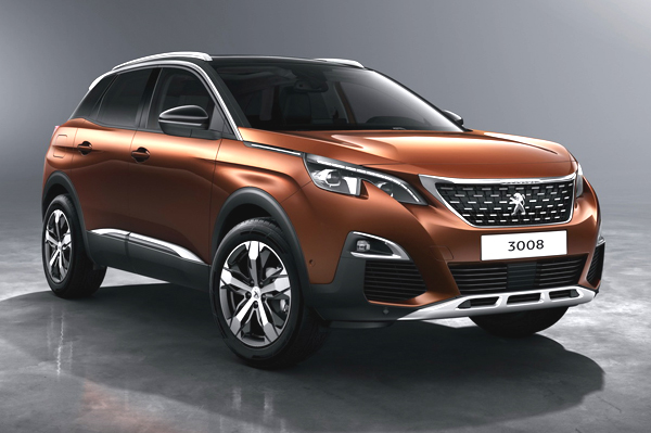 Peugeot 208 Hatchback 2008 And 3008 Crossovers Begin Road