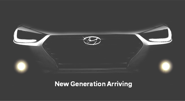 New Hyundai Verna official teaser.