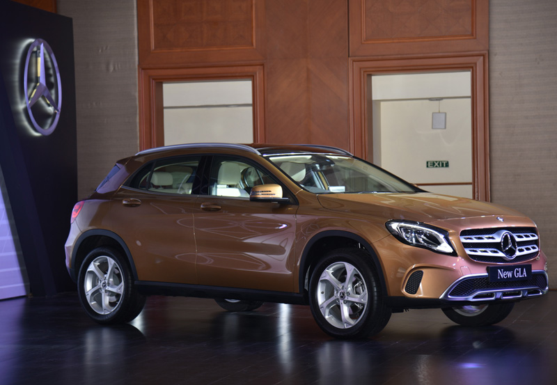 2017 Mercedes GLA facelift launched at Rs 30.65 lakh