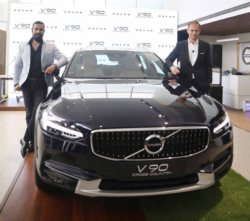 Volvo V90 Cross Country Launched In India At Rs 60 Lakh
