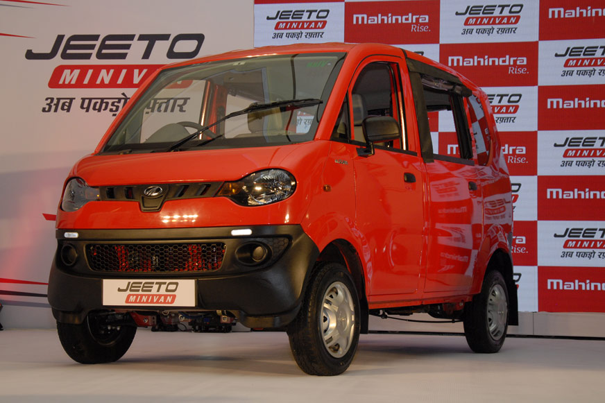 Mahindra Launches Jeeto Minivan At Rs 3 45 Lakh Autocar