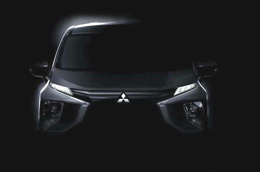 Mitsubishi Expander MPV teased ahead of unveil - Autocar India