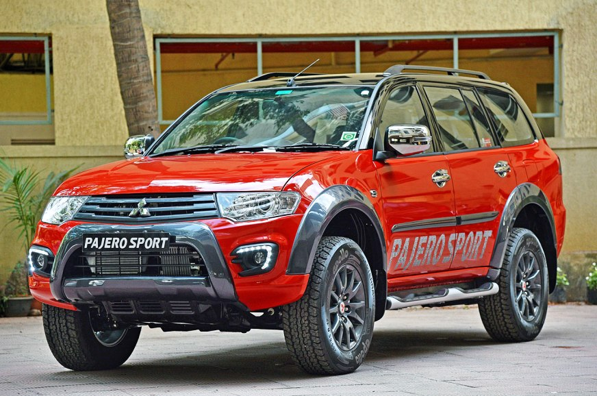 Mitsubishi All New Pajero Sport 2017 >> Mitsubishi Pajero Sport price drops by Rs 1 lakh - Autocar ...
