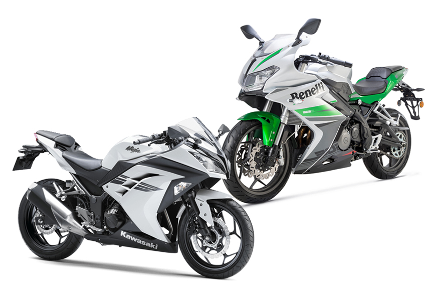 2017 Benelli 302R vs Kawasaki Ninja 300: Specifications comparison