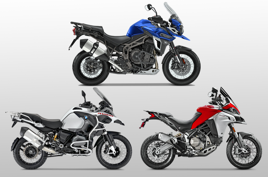 2017 Triumph Tiger 1200 Explorer XCx vs rivals: Specifications comparison
