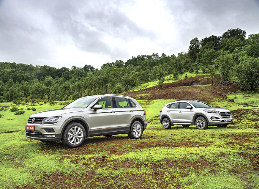 Review: 2017 Hyundai Tucson vs Volkswagen Tiguan comparison