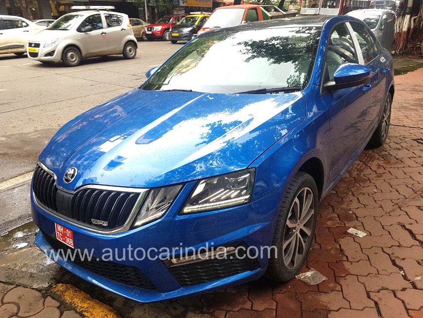 Skoda Octavia RS India launch on September 1 2017  Autocar India