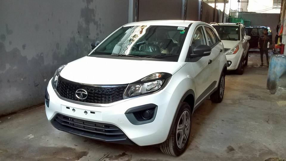 Tata Nexon Xm Xe And Xt Seen At A Dealership Expected