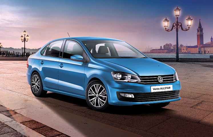 Volkswagen Vento AllStar launched in India - Autocar India