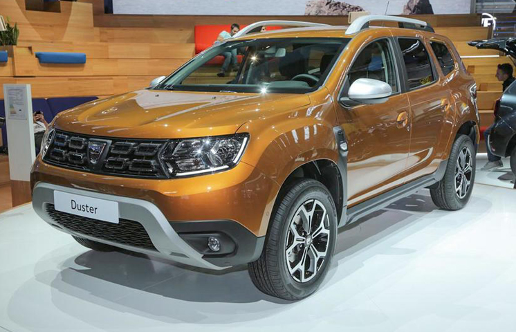 2018 renault duster sees public debut at frankfurt autocar india. Black Bedroom Furniture Sets. Home Design Ideas