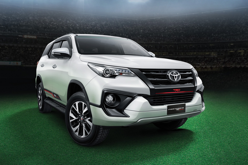 2017 Toyota Fortuner Trd Sportivo Launched At Rs 31 01 Lakh Autocar India