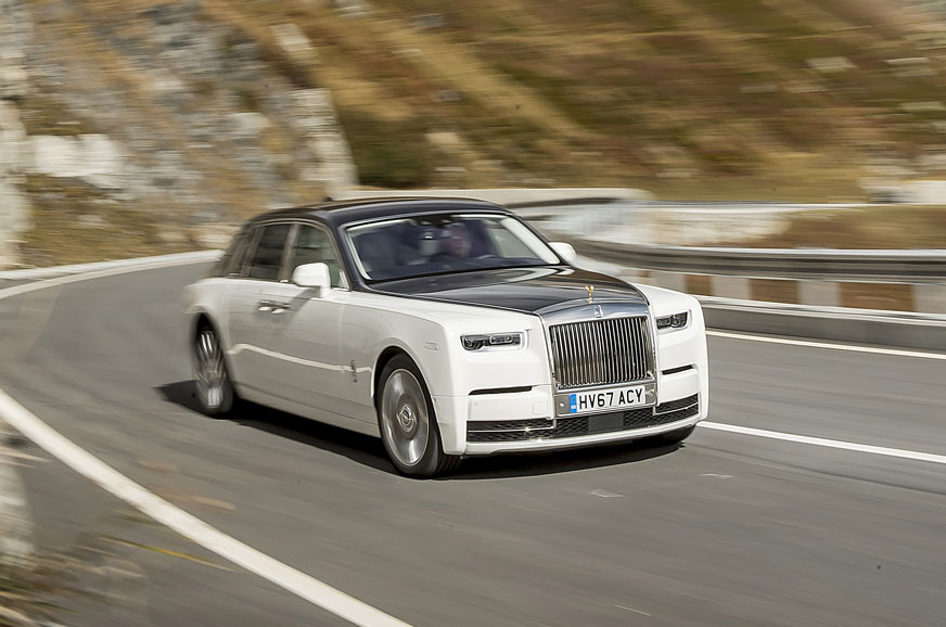 2018 rolls royce phantom review test drive autocar india. Black Bedroom Furniture Sets. Home Design Ideas