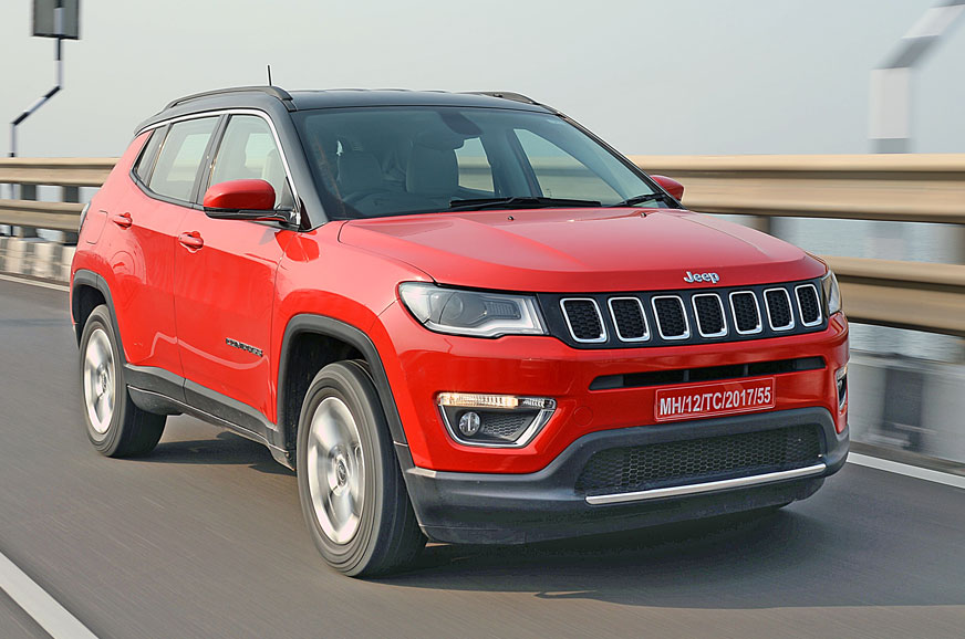 2017 jeep compass petrol review test drive autocar india. Black Bedroom Furniture Sets. Home Design Ideas