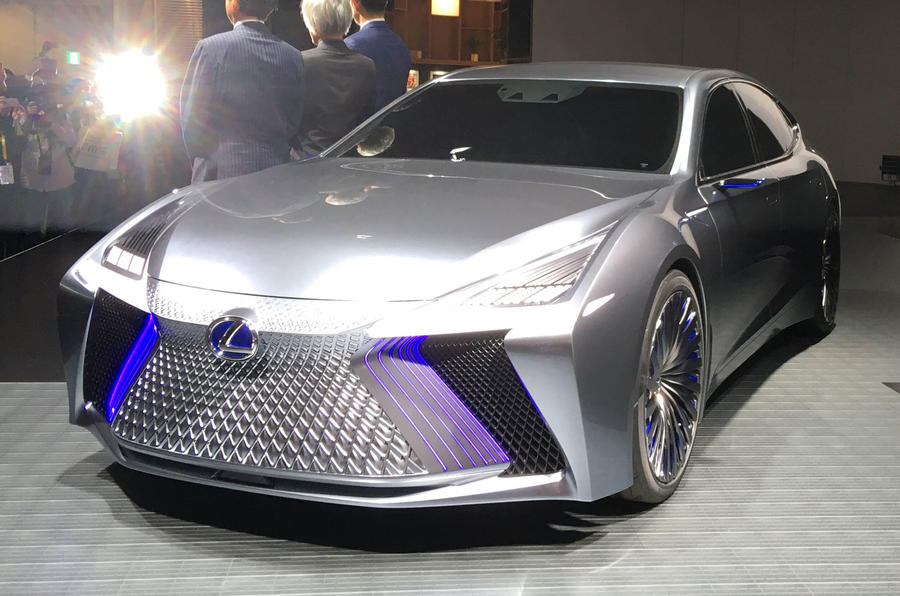 Most Fun Cars To Drive >> Lexus LS+ concept previews autonomous tech due in 2020 ...
