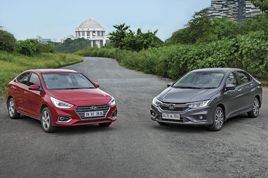Honda City Petrol Car Comparison