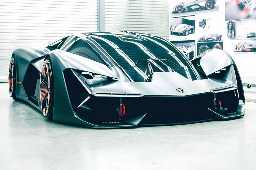 All Electric Lamborghini Terzo Millennio Concept Unveiled Autocar