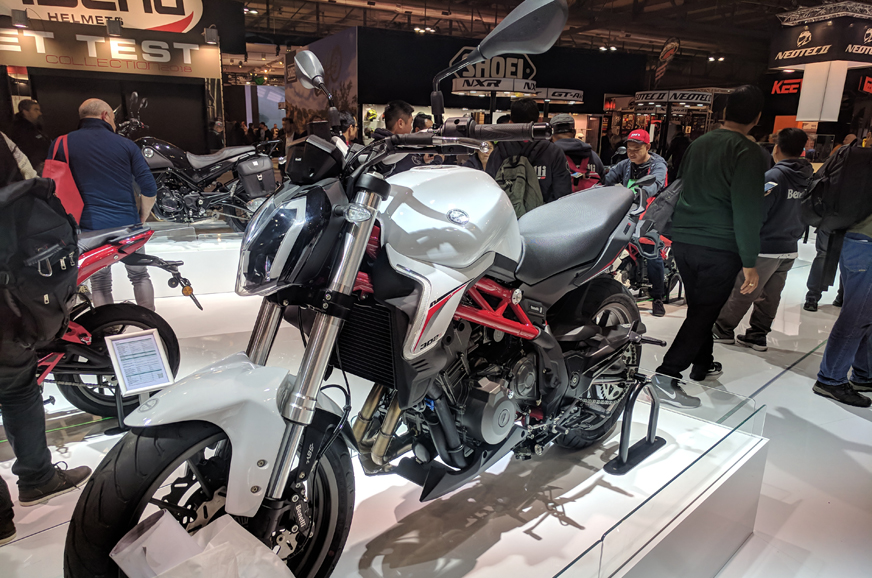 Benelli Showcases Trk251 302s And 752s At Eicma Autocar