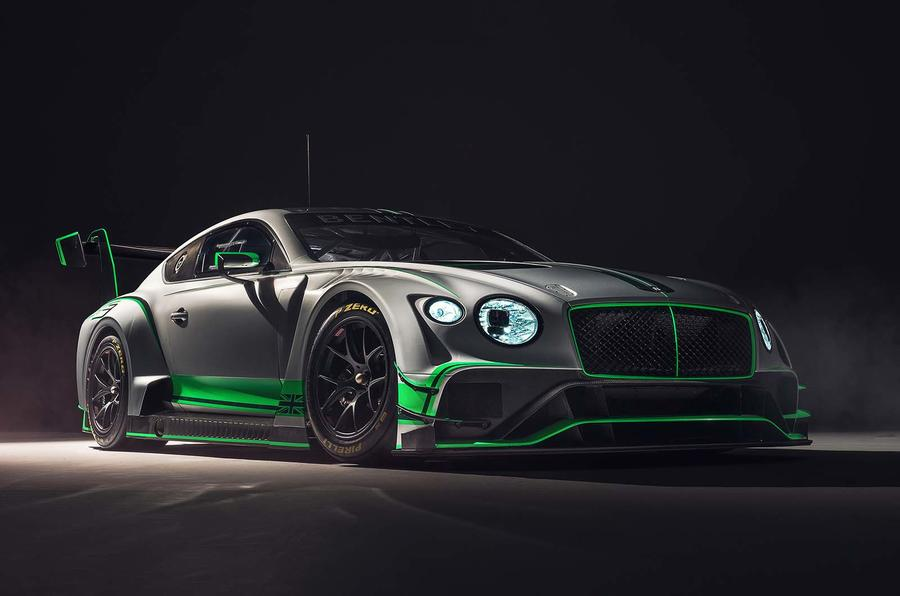 New Bentley Continental GT3 race car unveiled - Autocar India