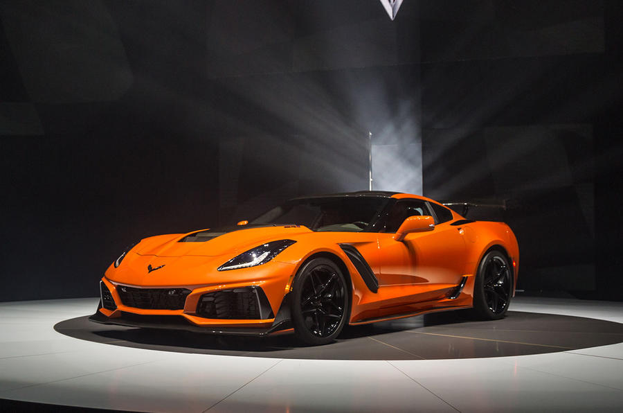 2018 Chevrolet Corvette Zr1 Revealed Autocar India