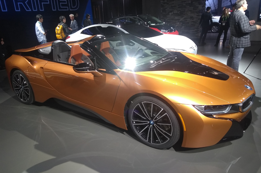 374hp Bmw I8 Roadster Unveiled In La Autocar India
