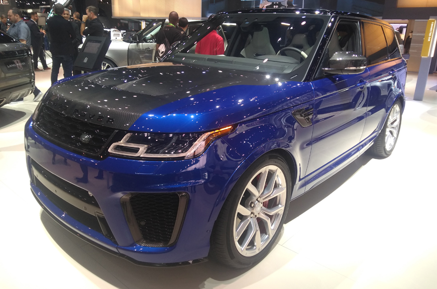 2018 land rover range rover sport and p400e showcased at the 2017 los angeles motor show. Black Bedroom Furniture Sets. Home Design Ideas