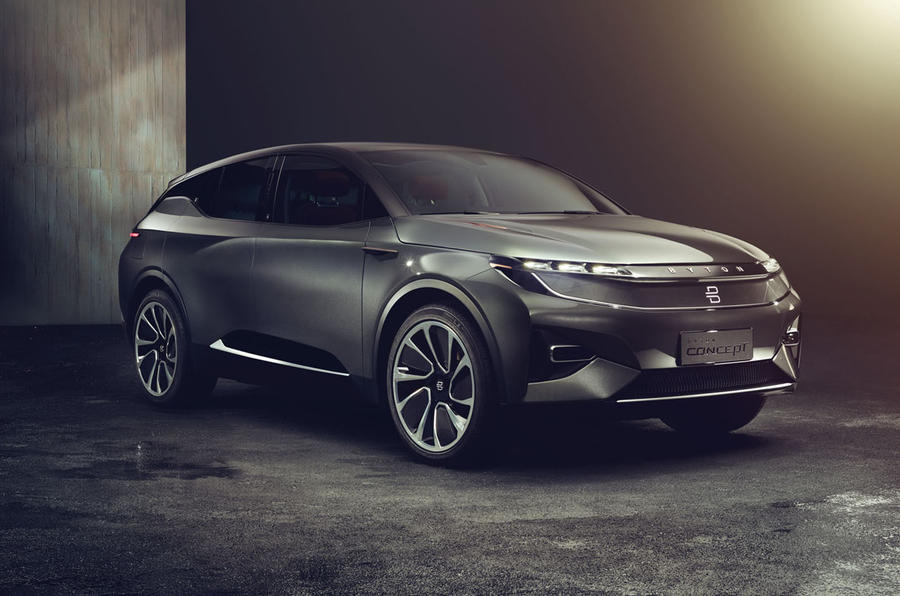 Chinese start-up Byton unveils full-electric Concept SUV ...