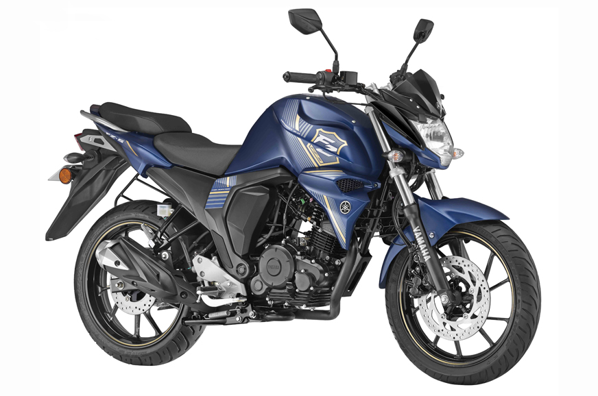 yamaha fzs fi with rear disc brake launched at rs 86 042