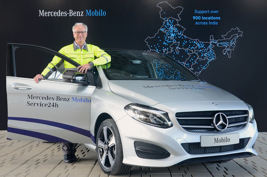 Mercedes benz introduces 24x7 road assistance programme for Mercedes benz road side assistance
