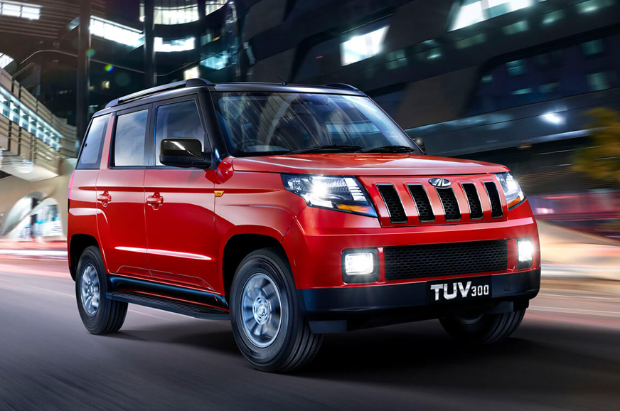 Mahindra TUV300 now available with 100hp mHawk diesel engine only - Autocar India
