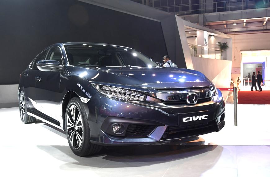 Auto Expo 2018: New Honda Civic on display ahead of India ...