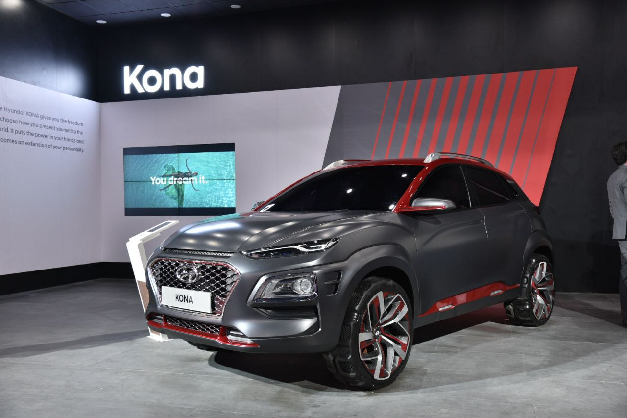 Auto Expo 2018: Hyundai Kona SUV showcased in India ...