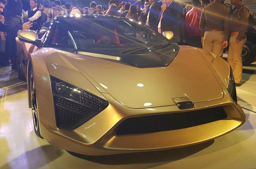 DC Design TCA Sportscar Revealed At Auto Expo - 2018 car show dc