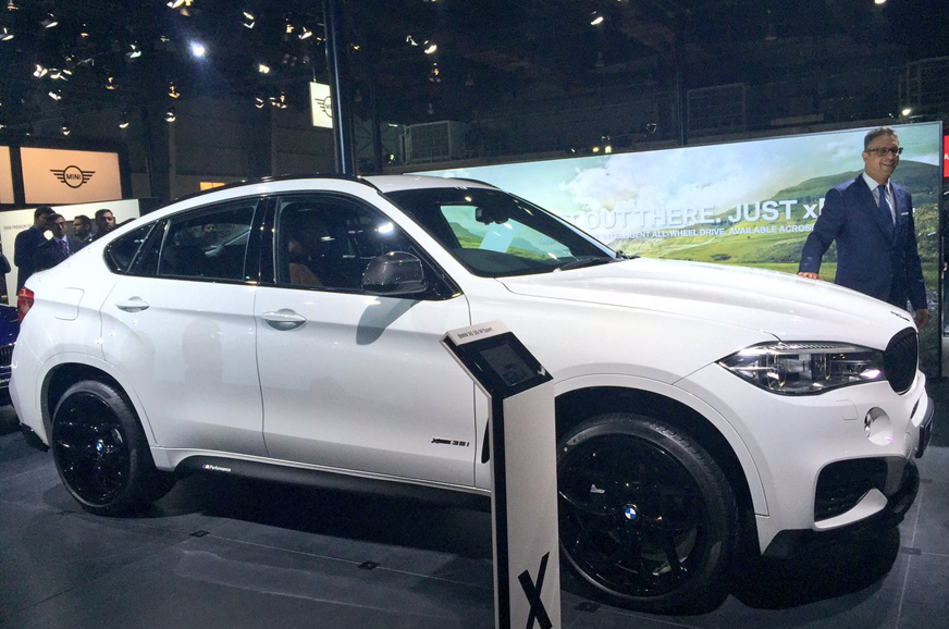 Auto Expo 2018 Bmw X6 35i Suv Launched In India At Rs 94 15 Lakh Autocar India