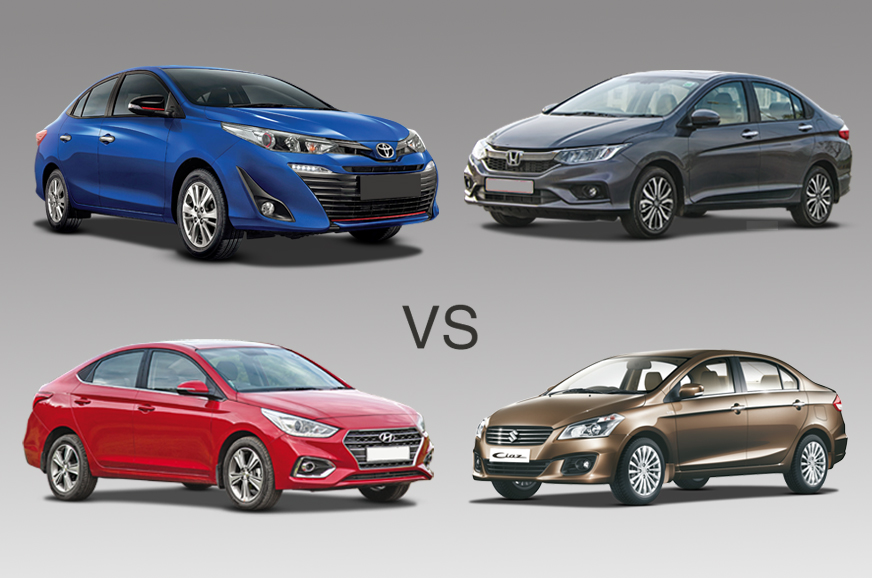 2018 Toyota Yaris Vs Rivals Specifications Comparison