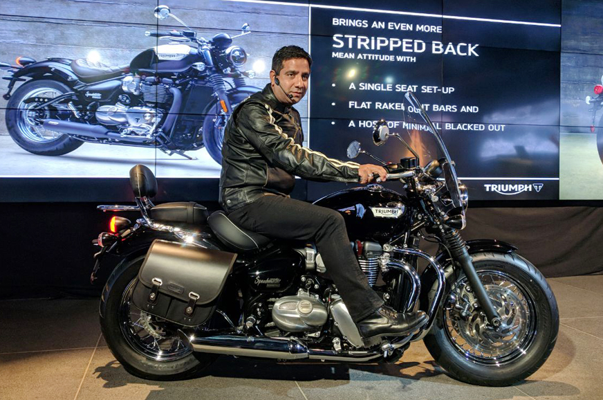 Extended Auto Warranty >> 2018 Triumph Bonneville Speedmaster launched in India at