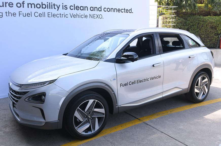 Hyundai Nexo Suv Fuel Cell Ev Showcased In India Autocar