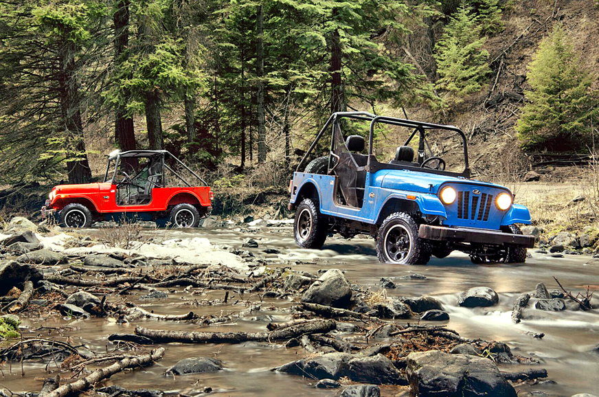 Mahindra Roxor Utility Vehicle Unveiled Autocar India