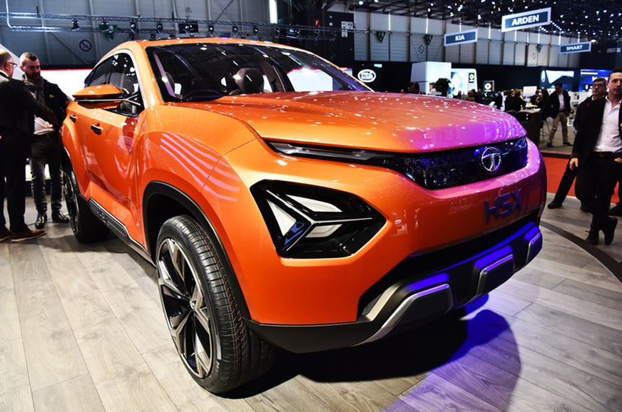 Tata H5x Suv And 45x Hatchback Concepts Showcased At 2018