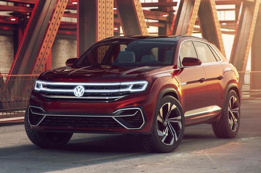 Volkswagen Atlas Price In India >> Volkswagen Atlas Cross Sport Suv Concept Unveiled Autocar India